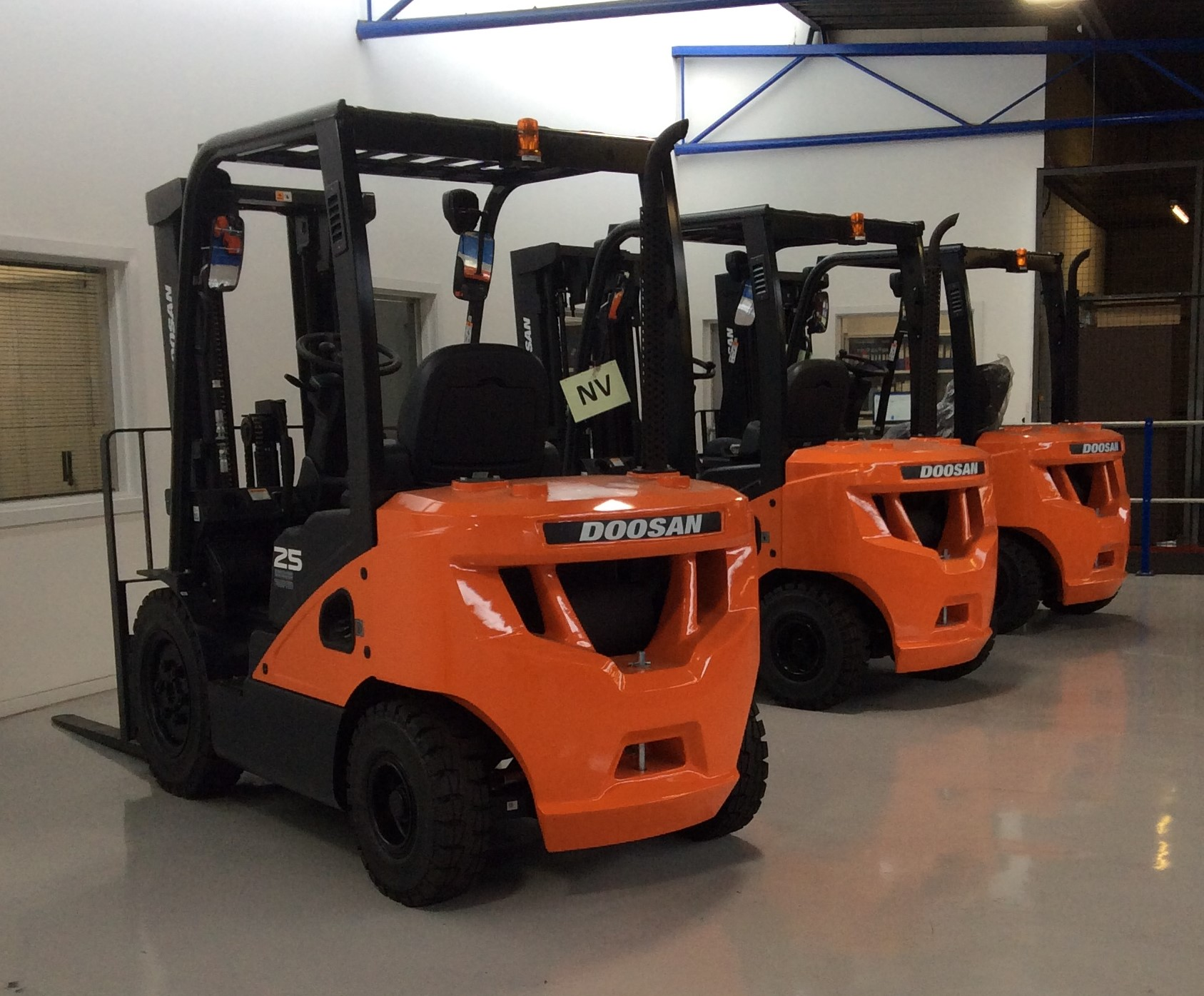 used diesel toyota forklift hire