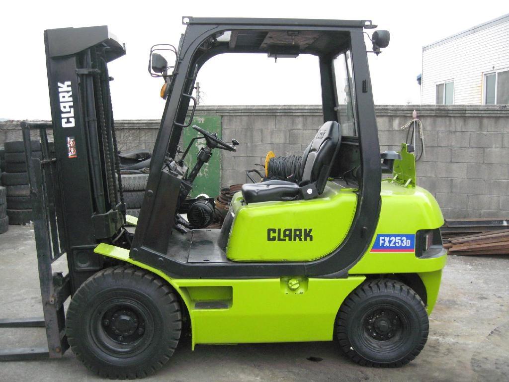 used diesel forklift hire